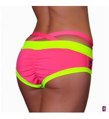 HotPink / NeonYellow Criss Cross