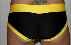 Black with Yellow Trim